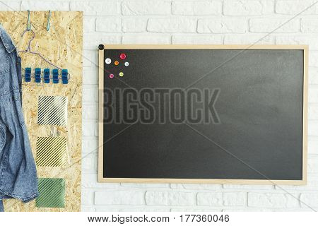 Blackboard And Osb Board
