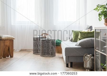 Room With Openwork Table