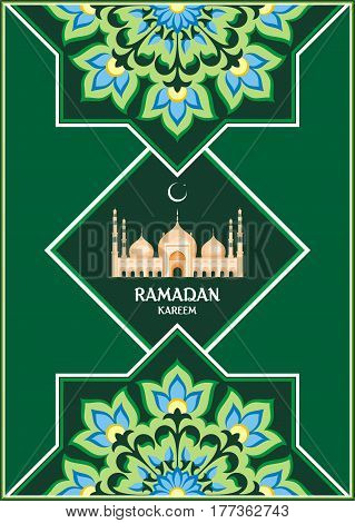 Ramadan Greeting Card Green.eps