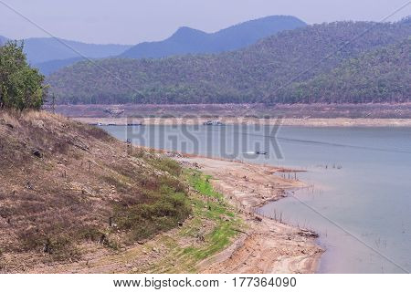 Mae ngad dam in maethaeng in Chiang mai Thailand
