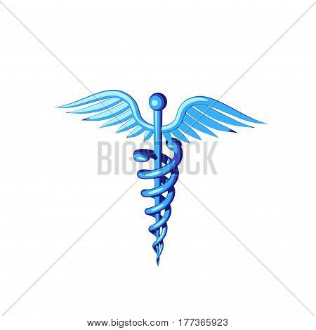 Medical symbol. Isolated on white background. 3D rendering illustration. Cartoon style.