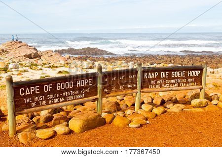 In South Africa Coastline    And Natural Park Reserve