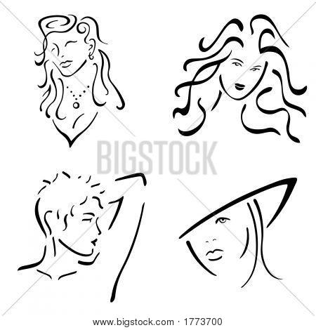Female Design Set