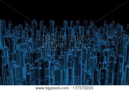 X Ray Urban City