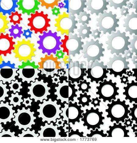 Seamless Gear Tiles
