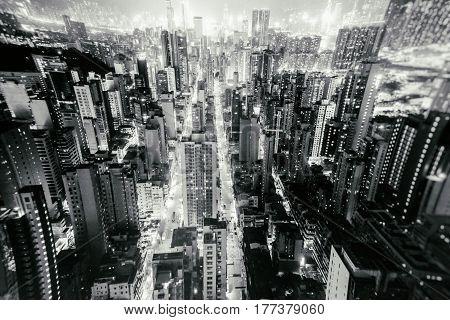 Night Of Urban Downtown