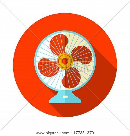 Ventilator vector icon. Summer. Summertime. Holiday. Vacation eps 10