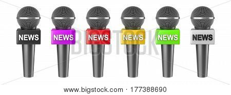 Microphone News Isolated Series
