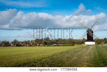 Traditional Old English Windmill