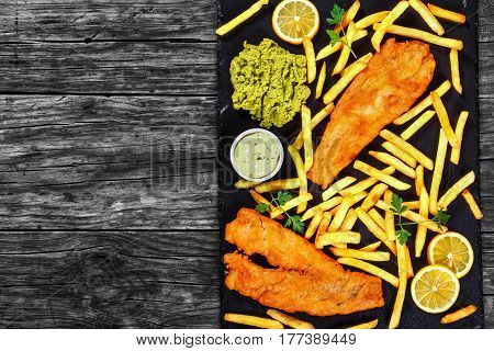 Fish And Chips - Cod, French Fries