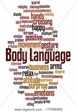 Body Language, Word Cloud Concept 3