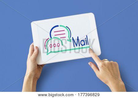 Digital Tablet Mail Communication Device