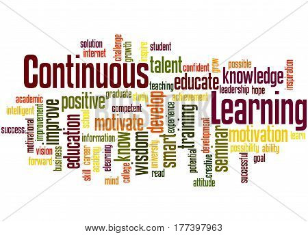 Continuous Learning, Word Cloud Concept 6