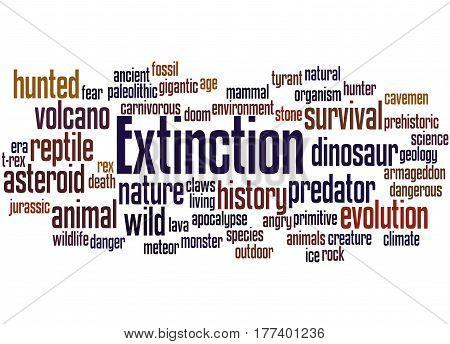 Extinction, Word Cloud Concept 2