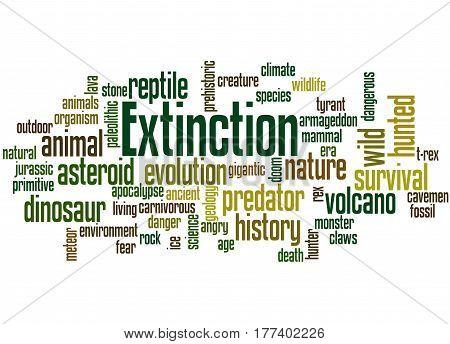 Extinction, Word Cloud Concept 6