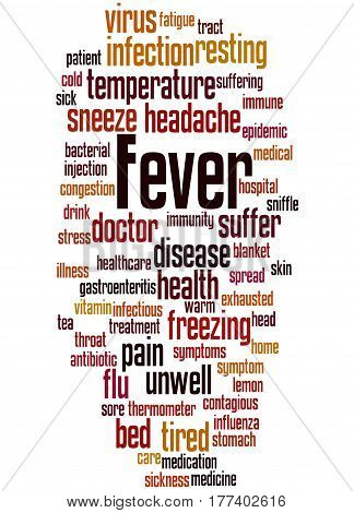 Fever, Word Cloud Concept