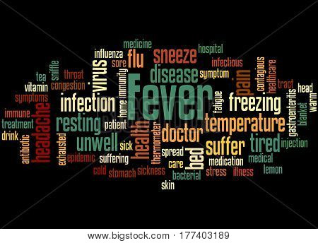Fever, Word Cloud Concept 6
