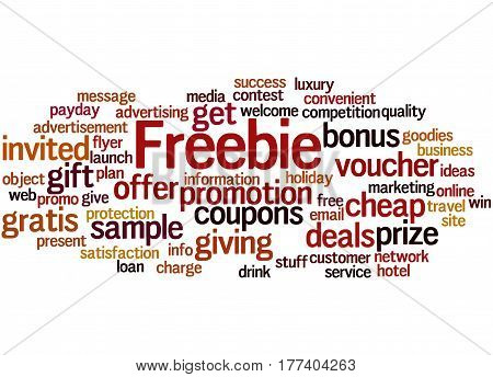 Freebie, Word Cloud Concept