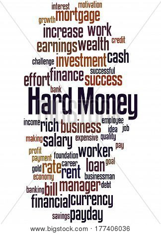 Hard Money, Word Cloud Concept 6