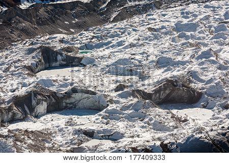 Beautiful landscape of Himalaya mountains, nepal, asia