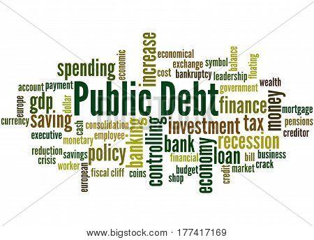 Public Debt, Word Cloud Concept 9