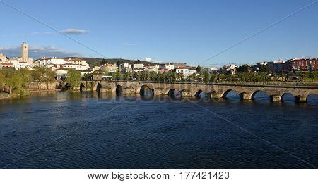 Village Of Mirandela, Alto Douro,  Portugal