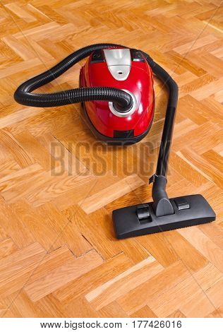 Vacuum cleaner on 2 - technology housework