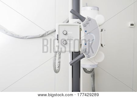 Closeup Of X-ray Device In Hospital