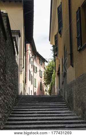Torno (Como Lombardy Italy) old typical village along the Lario lake.