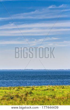 Beach Coastline In Summer
