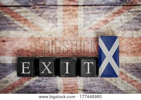 Concept Referendum Scotland