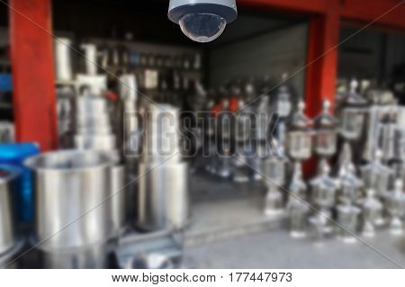 Blurred Photo, Blurry Image,stainless Steel Shop,background.