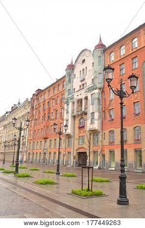 Malaya Konyushennaya Street- a street in the Central district of St. Petersburg. It passes from the Swedish lane to Nevsky Prospekt.