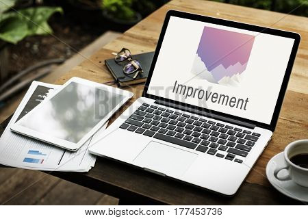 Improvement Digital Device Laptop Concept
