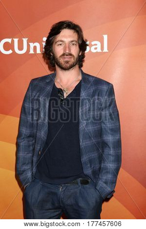 LOS ANGELES - MAR 20:  Eoin Macken at the NBCUniversal Summer Press Day at Beverly Hilton Hotel on March 20, 2017 in Beverly Hills, CA