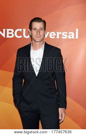 LOS ANGELES - MAR 20:  Brendan Fehr at the NBCUniversal Summer Press Day at Beverly Hilton Hotel on March 20, 2017 in Beverly Hills, CA