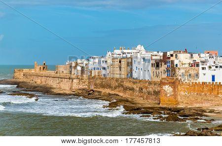 Cityscape of Essaouira, a UNESCO world heritage site in Morocco. North Africa