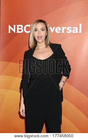 LOS ANGELES - MAR 20:  Arielle Kebbel at the NBCUniversal Summer Press Day at Beverly Hilton Hotel on March 20, 2017 in Beverly Hills, CA