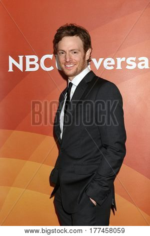 LOS ANGELES - MAR 20:  Nick Gehlfuss at the NBCUniversal Summer Press Day at Beverly Hilton Hotel on March 20, 2017 in Beverly Hills, CA