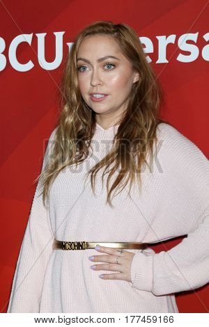 LOS ANGELES - MAR 20:  Brandi Cyrus at the NBCUniversal Summer Press Day at Beverly Hilton Hotel on March 20, 2017 in Beverly Hills, CA