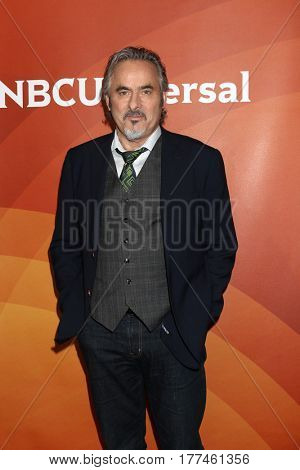 LOS ANGELES - MAR 20:  David Feherty at the NBCUniversal Summer Press Day at Beverly Hilton Hotel on March 20, 2017 in Beverly Hills, CA
