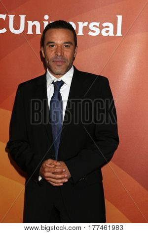 LOS ANGELES - MAR 20:  Michael Irby at the NBCUniversal Summer Press Day at Beverly Hilton Hotel on March 20, 2017 in Beverly Hills, CA