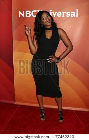 LOS ANGELES - MAR 20:  Tiffany Haddish at the NBCUniversal Summer Press Day at Beverly Hilton Hotel on March 20, 2017 in Beverly Hills, CA