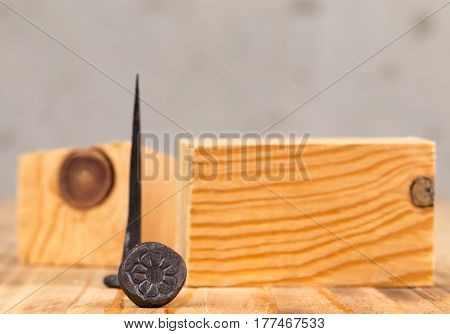 Decorative Forged Nails