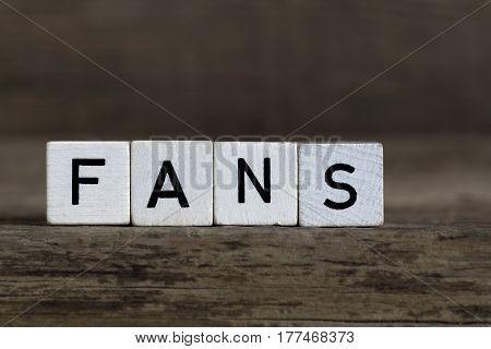 Fans, Written In Cubes