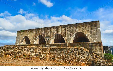 Fort Adelaide or La Citadelle. Mauritius