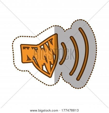 audio volume technology icon, vector illustration design