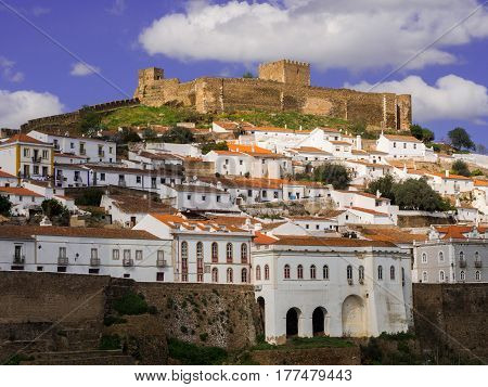 Mertola in Alentejo region in south Portugal