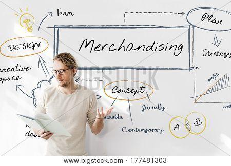 Merchandising Business Concept