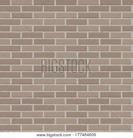 Brick Wall Seamless Vector Illustration Background EPS10
